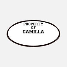 Property of CAMILLA Patch