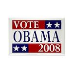Vote Obama 2008 Rectangle Magnet