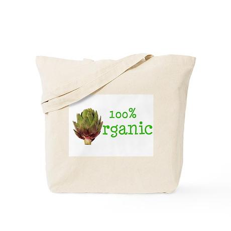 Organic Artichokes Tote Bag