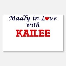 Madly in Love with Kailee Decal