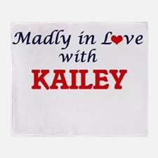 Madly in Love with Kailey Throw Blanket