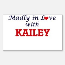 Madly in Love with Kailey Decal