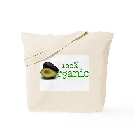 Organic Avocados Tote Bag