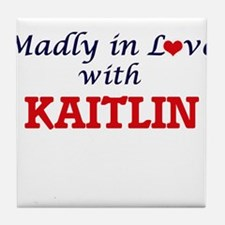 Madly in Love with Kaitlin Tile Coaster