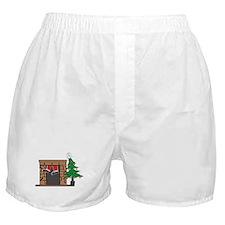 Santa's On His Way Boxer Shorts