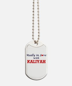 Madly in Love with Kaliyah Dog Tags