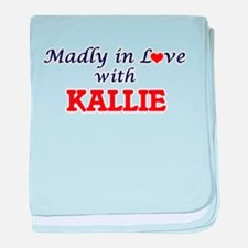 Madly in Love with Kallie baby blanket