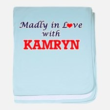 Madly in Love with Kamryn baby blanket