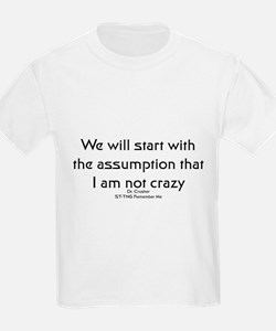 We will start with the assump T-Shirt