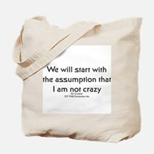 We will start with the assump Tote Bag