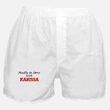 Madly in Love with Karissa Boxer Shorts