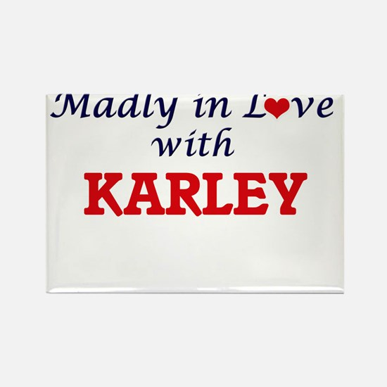 Madly in Love with Karley Magnets