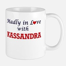 Madly in Love with Kassandra Mugs
