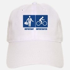 Work Is Important, Cycling Is Importanter Baseball Baseball Cap