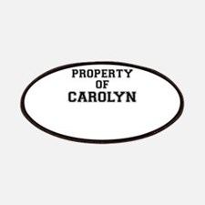 Property of CAROLYN Patch