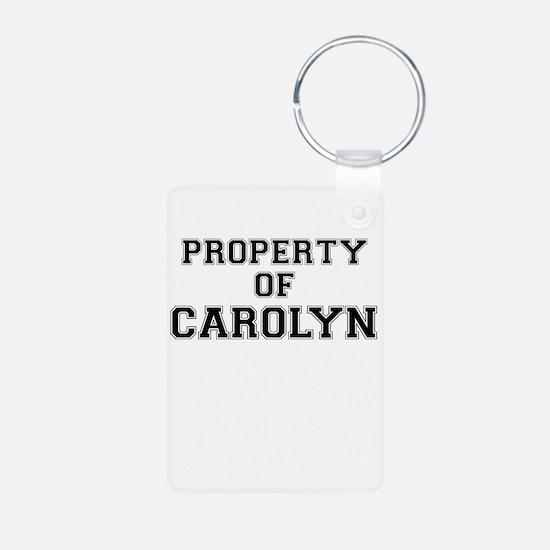 Property of CAROLYN Keychains