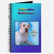 Yellow Labrador Retriever 2 Journal
