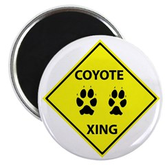 Coyote Crossing Magnet
