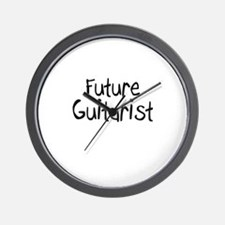 Future Guitarist Wall Clock