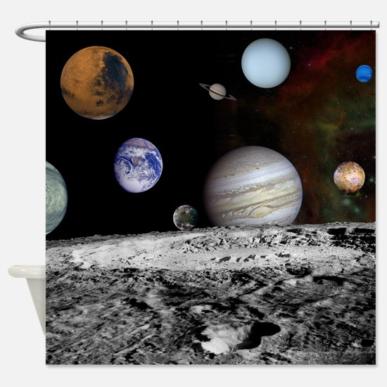 New Solar Shower Curtain