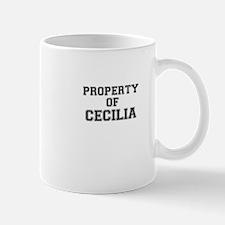 Property of CECILIA Mugs