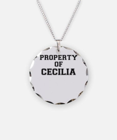 Property of CECILIA Necklace