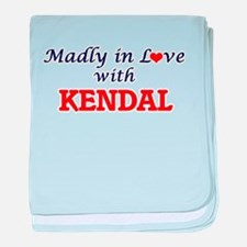 Madly in Love with Kendal baby blanket