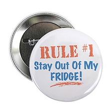"Fridge Kitchen Humor 2.25"" Button"