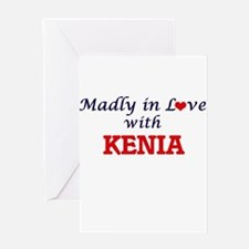 Madly in Love with Kenia Greeting Cards