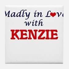 Madly in Love with Kenzie Tile Coaster