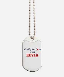 Madly in Love with Keyla Dog Tags