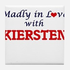Madly in Love with Kiersten Tile Coaster