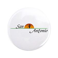 """San Antonio Sunset 3.5"""" Button"""