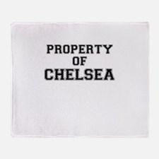 Property of CHELSEA Throw Blanket