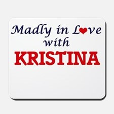 Madly in Love with Kristina Mousepad