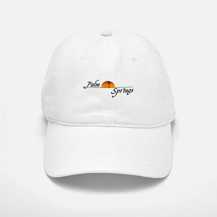 Palm Springs Sunset Baseball Baseball Cap