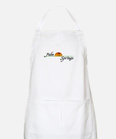 Palm Springs Sunset BBQ Apron
