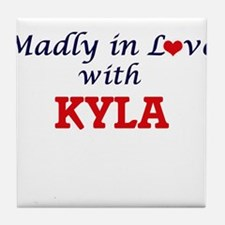 Madly in Love with Kyla Tile Coaster