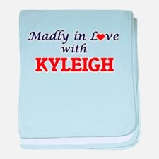 Madly in Love with Kyleigh baby blanket