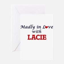 Madly in Love with Lacie Greeting Cards