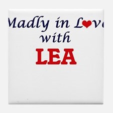 Madly in Love with Lea Tile Coaster