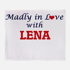 Madly in Love with Lena Throw Blanket