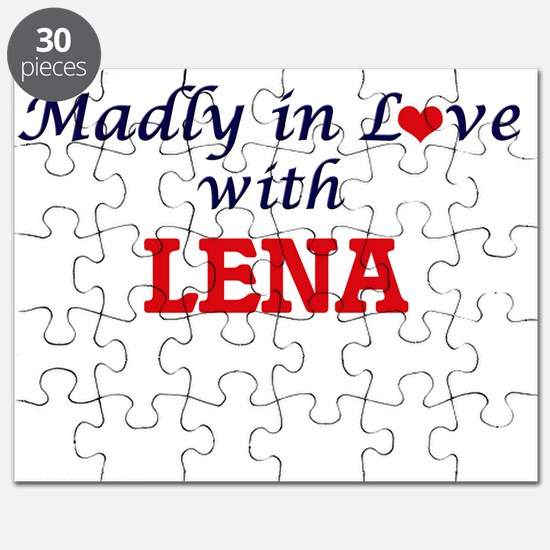Madly in Love with Lena Puzzle