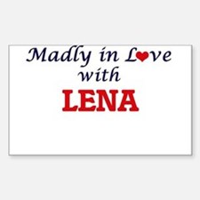 Madly in Love with Lena Decal