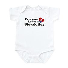 Everyone Loves a Slovak Boy Infant Bodysuit