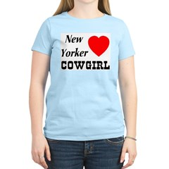 New Yorker (Heart) Cowgirl T-Shirt