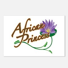 Postcards (Package of 8)/African Princess