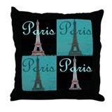 Paris Throw Pillows