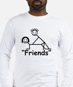 """Friends"" Long Sleeve T-Shirt"