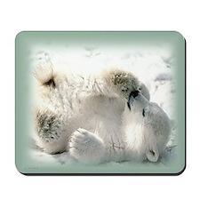 Polar Bear cub Mousepad